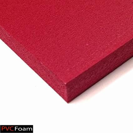 ورق فومیزه پی وی سی - قرمز